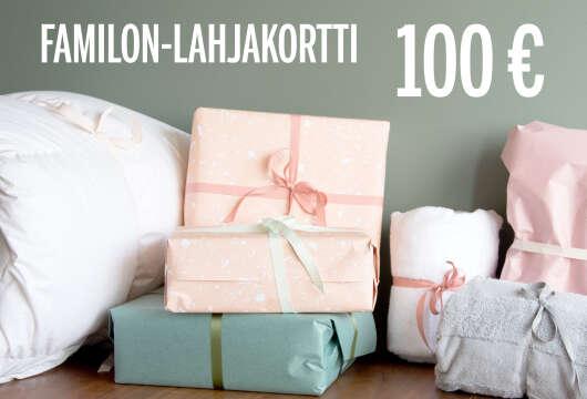 Familon-lahjakortti 100 euroa