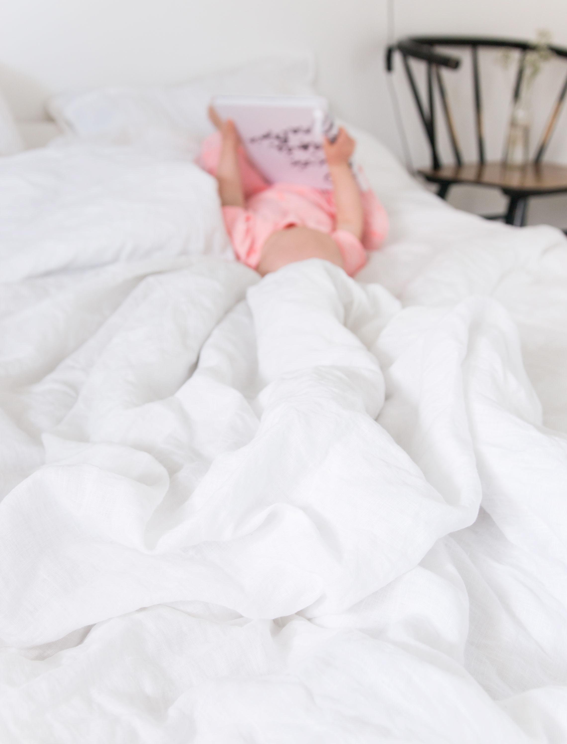 Familon Princess -pellavapussilakanat ja -tyynyliinat