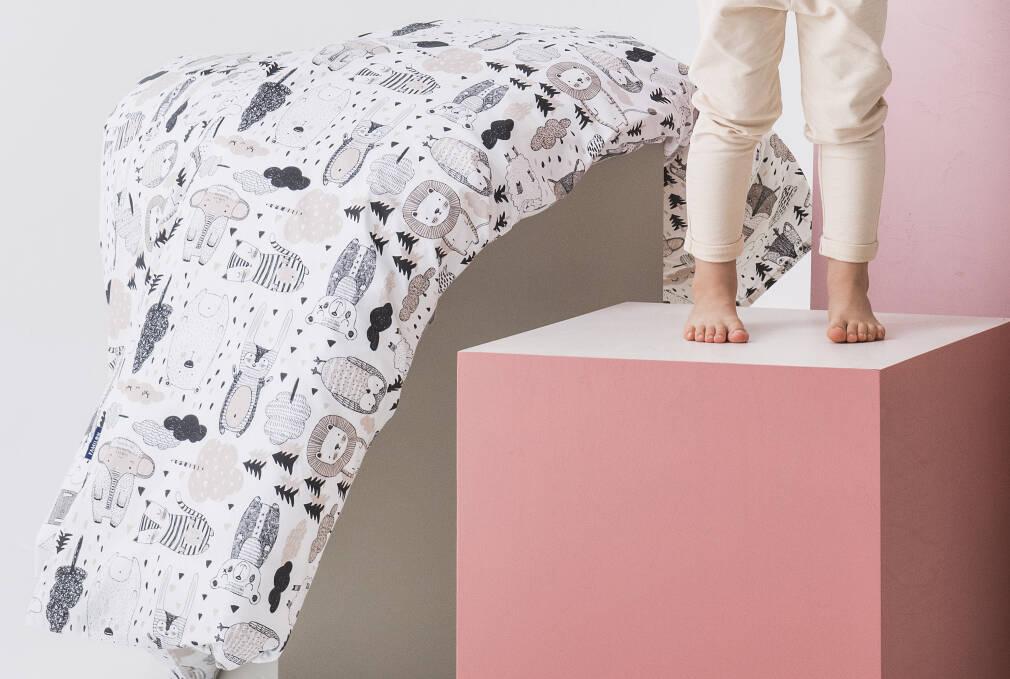 Familon Kaverit Organic - vauvan pussilakanasetti