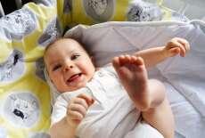 Familon Muumipallot -vauvanmakuupussi