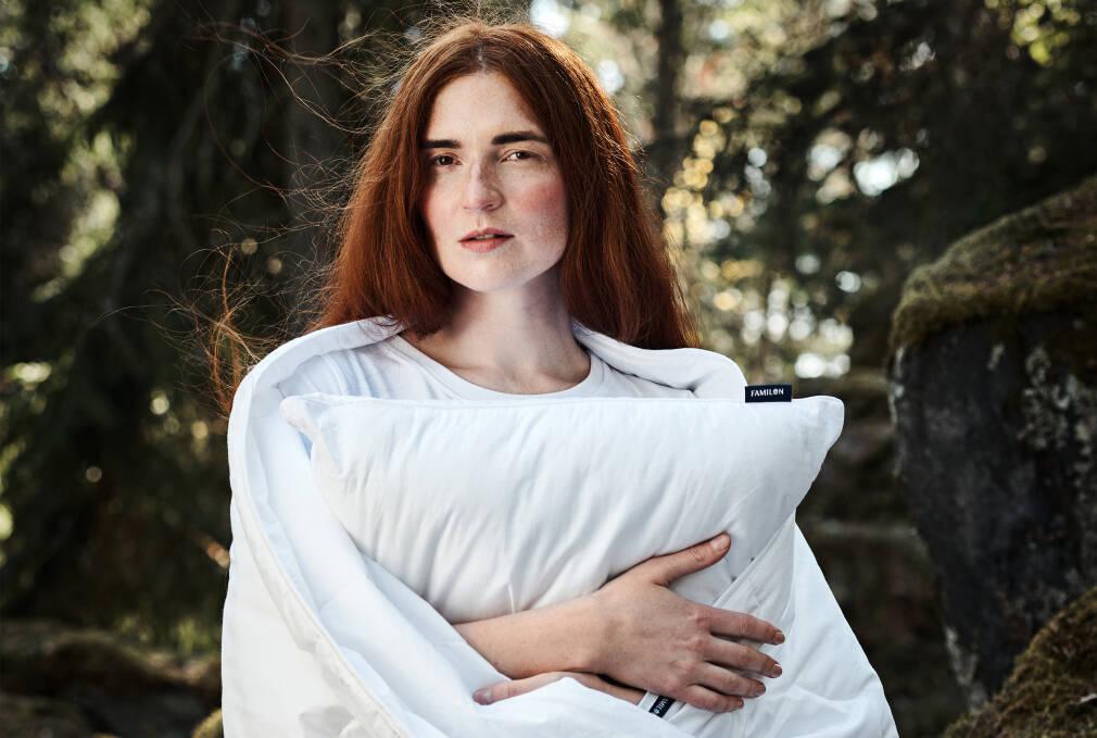 Ikimetsä-lahjasetti: Kesäyön tyyny-peitebundle